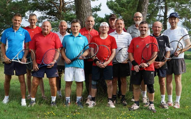 Tennis Herren Mannschaft August 2014