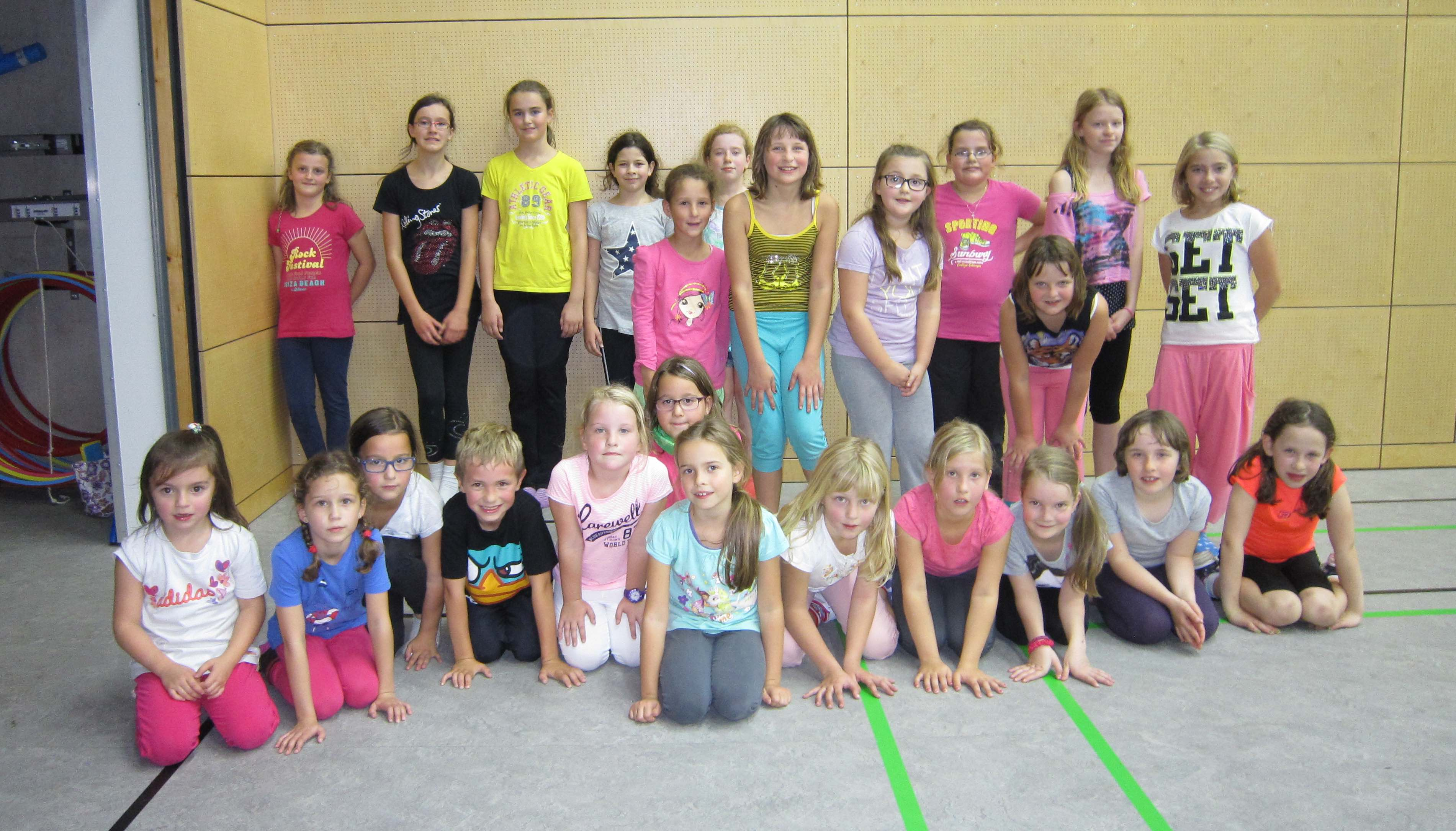 Zumba Kids Kurs 2014 Herbst