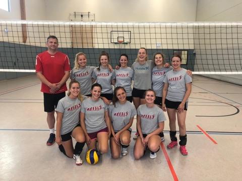 Volleyballer verbringen trainingscamp in inzell